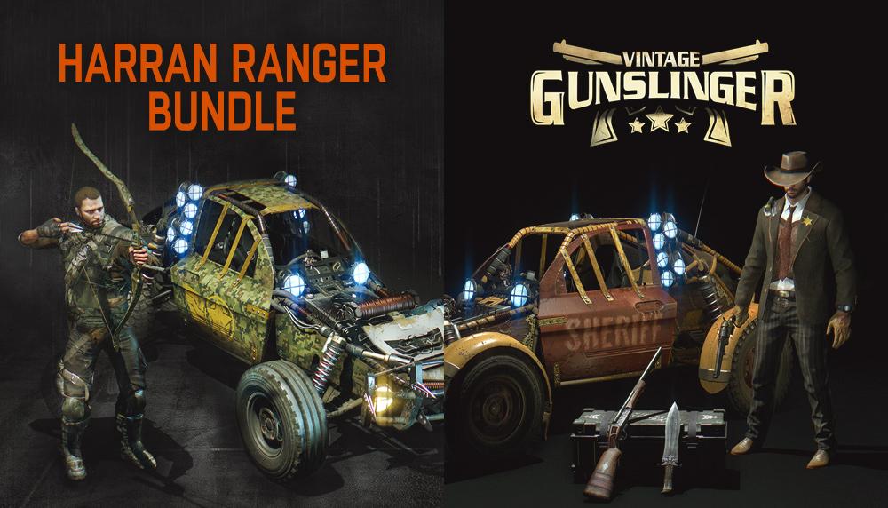 Dying Light: Harran Ranger + Vintage Gunslinger Bundle    (PC STEAM KEY)