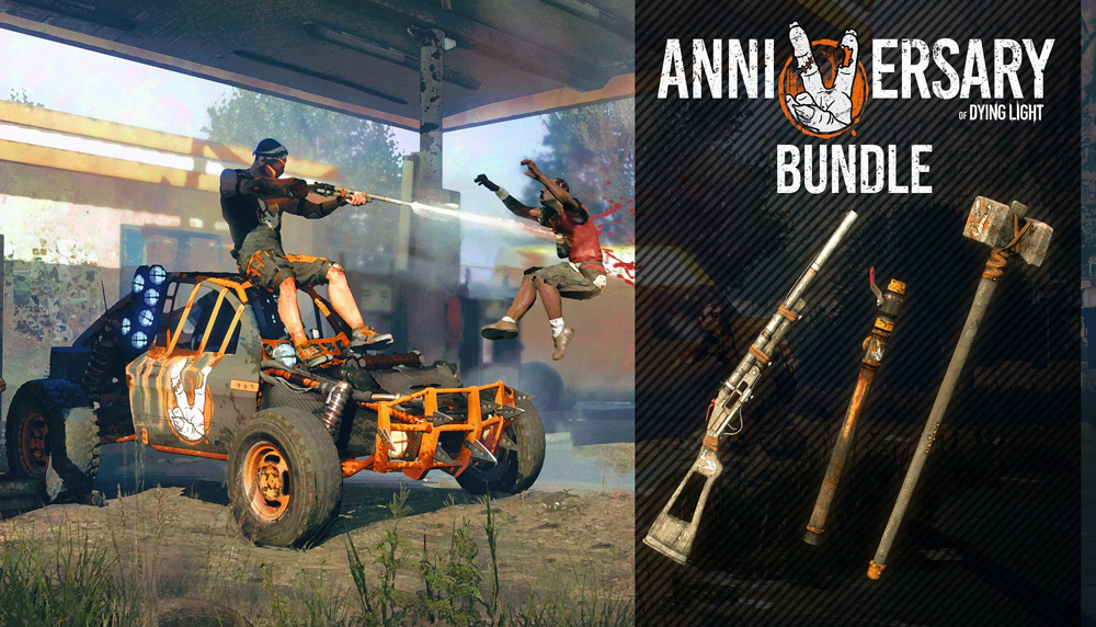 Dying Light: 5th Anniversary Bundle   (PC Steam Key)