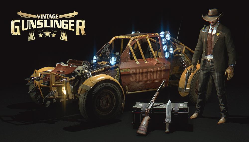 Dying Light: Vintage Gunslinger Bundle   (PC Steam Key)